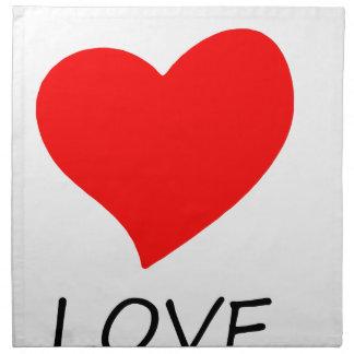 peace love3 napkin
