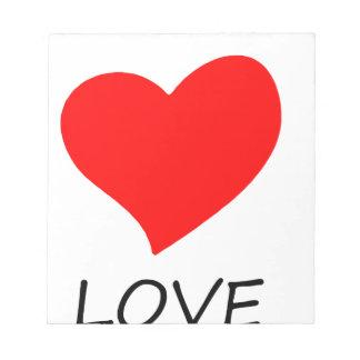 peace love3 notepad