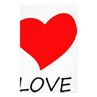 peace love3 stationery