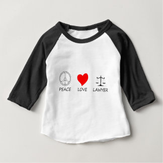 peace love40 baby T-Shirt