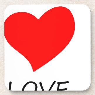 peace love40 coaster