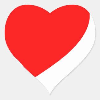 peace love40 heart sticker