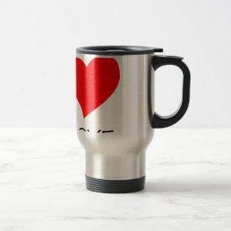 peace love40 travel mug