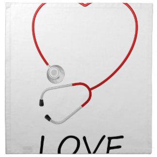 peace love42 napkin
