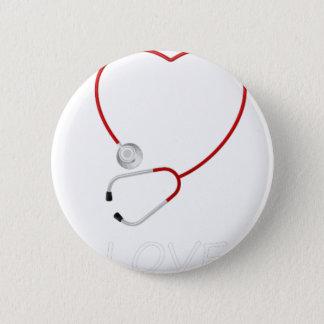 peace love43 2 inch round button