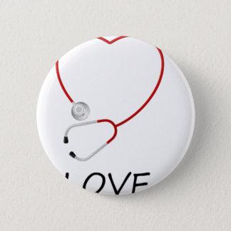 peace love44 2 inch round button