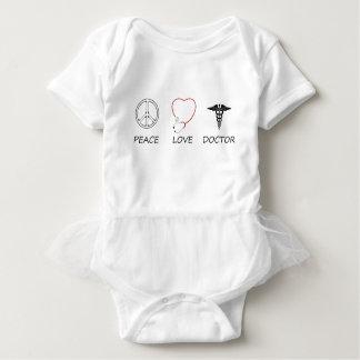 peace love44 baby bodysuit
