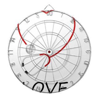 peace love44 dartboard