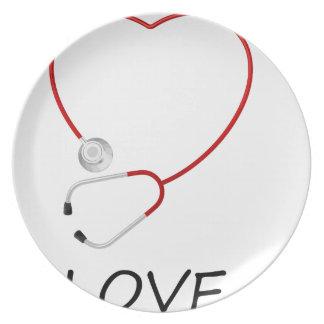 peace love44 plate
