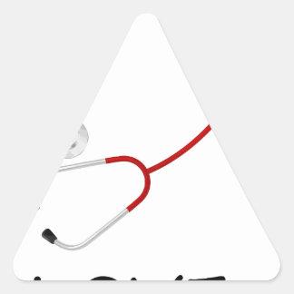 peace love44 triangle sticker