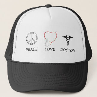 peace love44 trucker hat