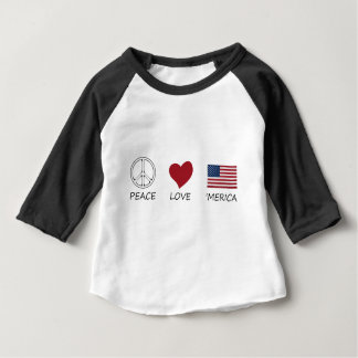 peace love45 baby T-Shirt