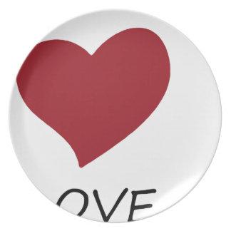 peace love45 plate