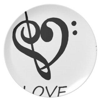peace love46 plate