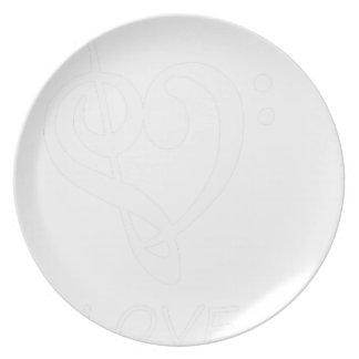 peace love47 plate