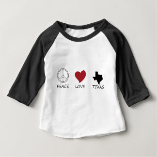 peace love48 baby T-Shirt