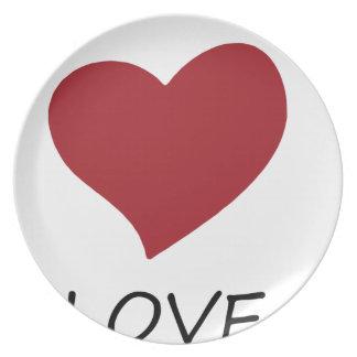 peace love48 plate