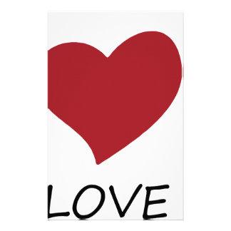 peace love48 stationery