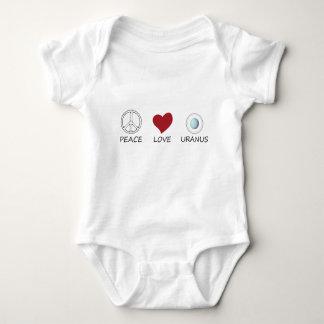 peace love49 baby bodysuit