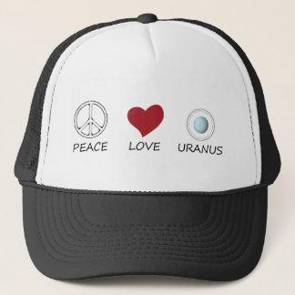 peace love49 trucker hat