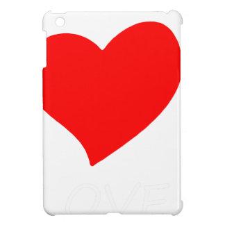 peace love4 iPad mini cover