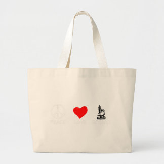 peace love4 large tote bag