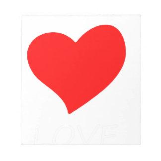 peace love4 notepad