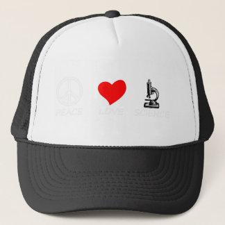 peace love4 trucker hat