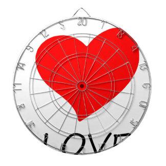 peace love5 dartboard