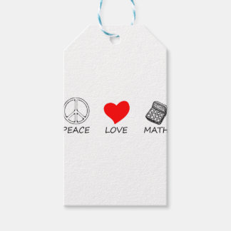 peace love5 gift tags