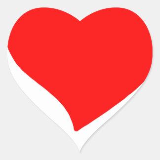 peace love5 heart sticker