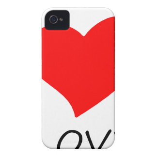 peace love5 iPhone 4 Case-Mate case