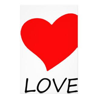 peace love5 stationery