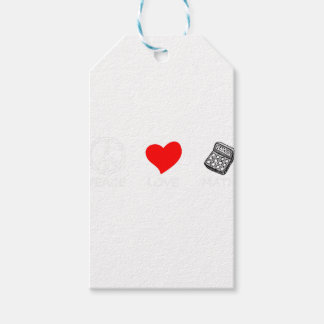 peace love6 gift tags