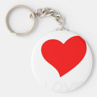 peace love6 keychain