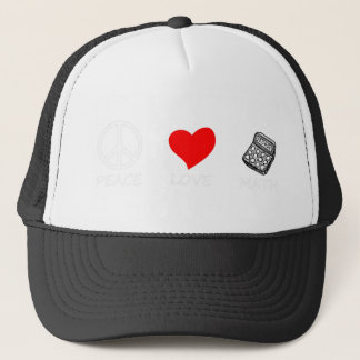 peace love6 trucker hat
