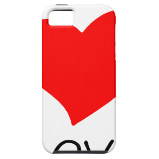 peace love7 case for the iPhone 5