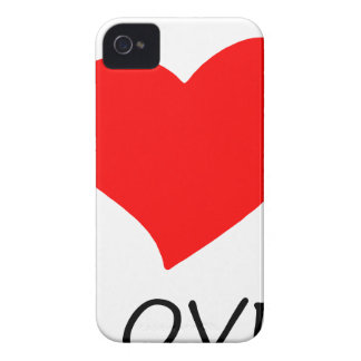 peace love7 iPhone 4 Case-Mate case