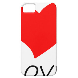 peace love7 iPhone 5 cover