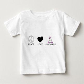 peace love8 baby T-Shirt