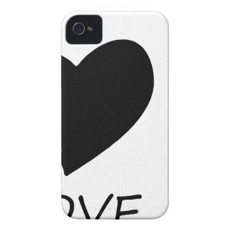 peace love8 iPhone 4 case