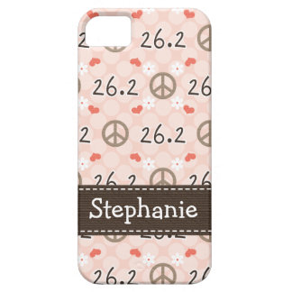 Peace Love 26.2 Case For The iPhone 5