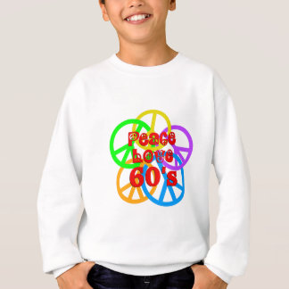 Peace Love 60s Sweatshirt