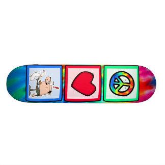 Peace, Love, Accountants Skate Board Decks