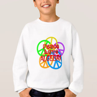 Peace Love Algebra Sweatshirt