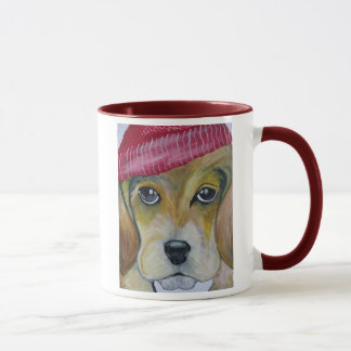 Peace, Love and Beagles Mug