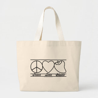 Peace Love and Chilies Bag