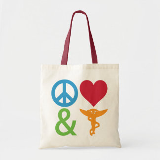 Peace, Love and Chiropractic Bags