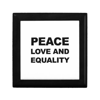 PEACE, LOVE AND EQUALITY GIFT BOX