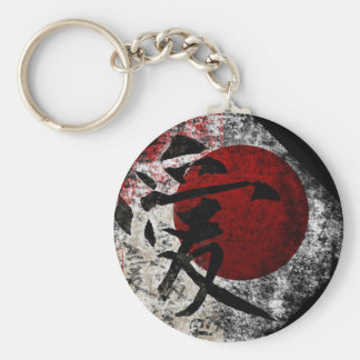 Peace Love and Hope #3 Basic Round Button Keychain